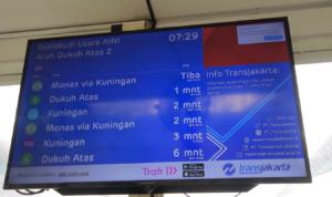 トランスジャカルタ インドネシア ヤルネシアン!