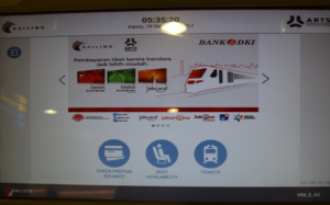 ジャカルタ 空港鉄道 スカルノハッタ スディルマン
