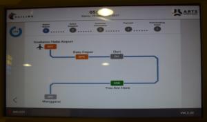 ジャカルタ空港鉄道 スカルノハッタ 乗り方 ヤルネシアン