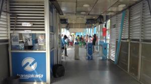 トランスジャカルタ バス インドネシア 料金 改札 ヤルネシアン!