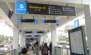 トランスジャカルタ 路線図 インドネシア ヤルネシアン!