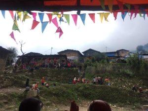 ラプラック村 ヤルネシアン ネパール 地震